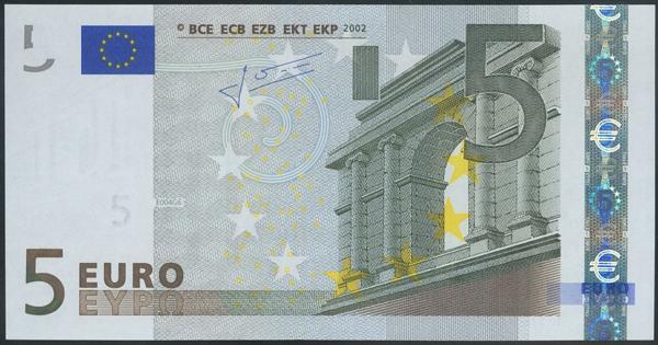 2702 - Billetes Euros