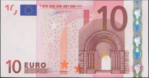 2703 - Billetes Euros
