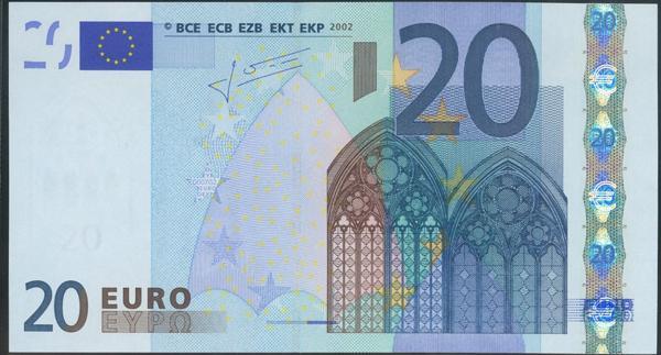 2706 - Billetes Euros
