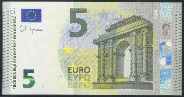 2713 - Billetes Euros