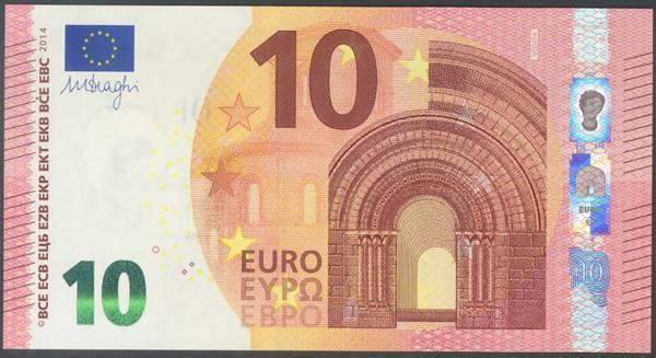 2715 - Billetes Euros