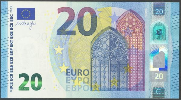 2716 - Billetes Euros