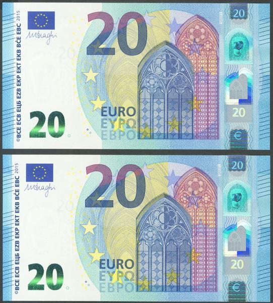 2717 - Billetes Euros