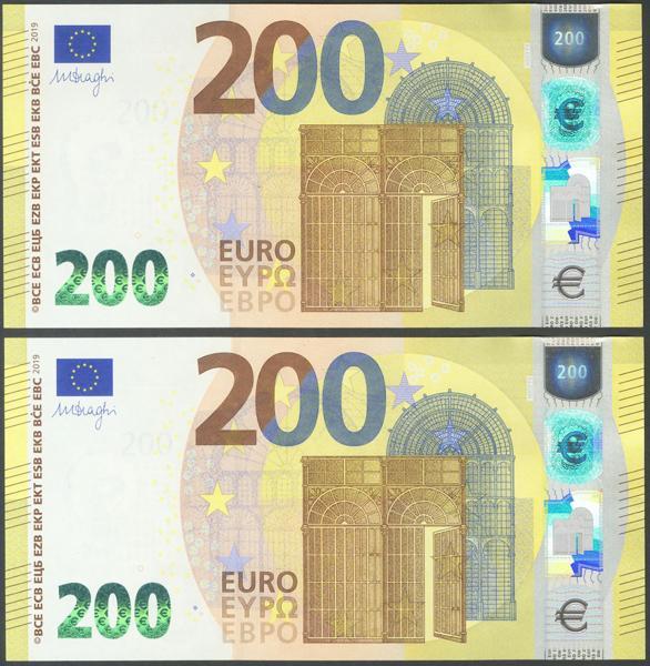 2719 - Billetes Euros
