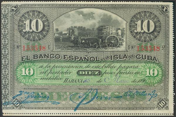 2723 - Billetes de Colonias y Otros