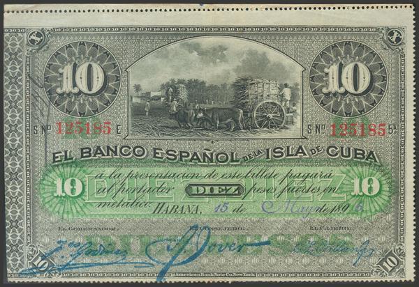 2724 - Billetes de Colonias y Otros