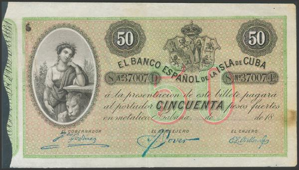 2725 - Billetes de Colonias y Otros