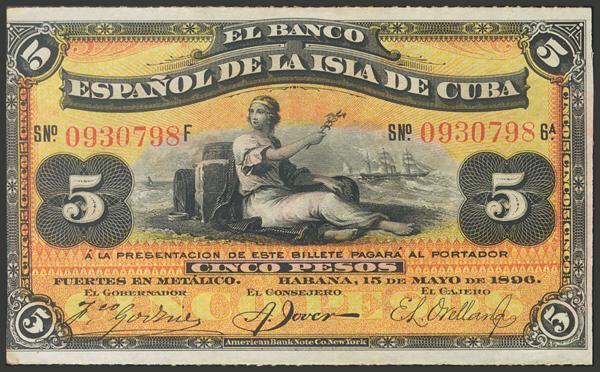 2726 - Billetes de Colonias y Otros