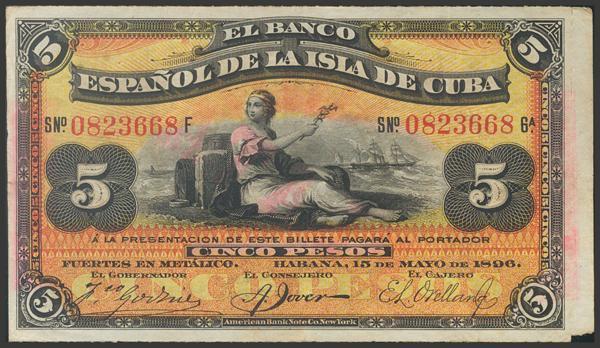 2727 - Billetes de Colonias y Otros