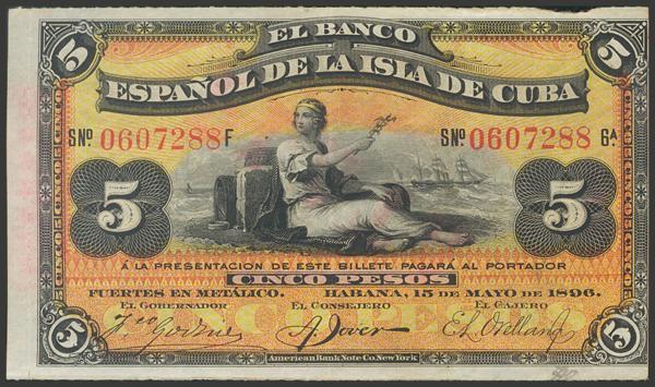 2728 - Billetes de Colonias y Otros