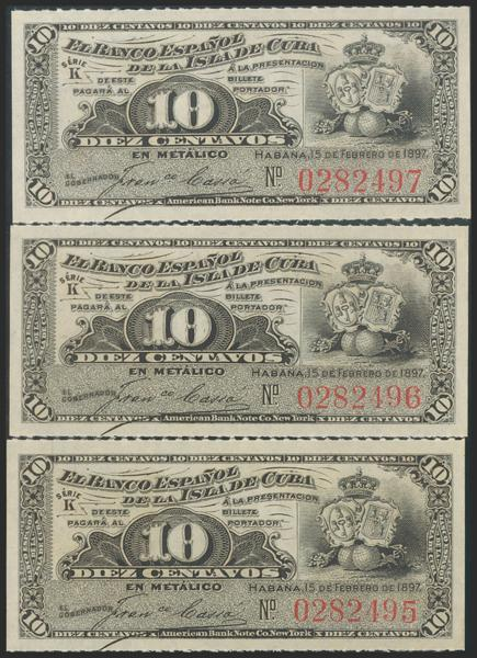 2731 - Billetes de Colonias y Otros