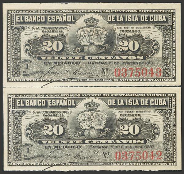 2732 - Billetes de Colonias y Otros