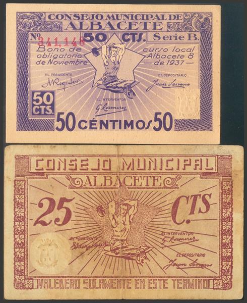 2766 - Billetes Guerra Civil