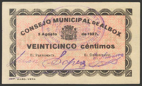 2767 - Billetes Guerra Civil
