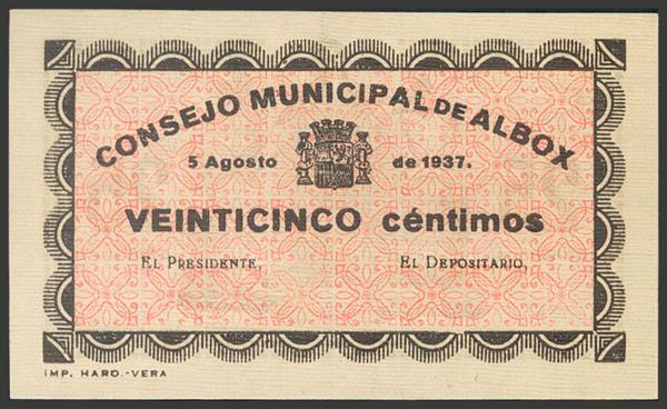 2768 - Billetes Guerra Civil