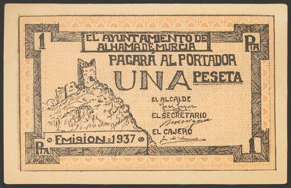2771 - Billetes Guerra Civil