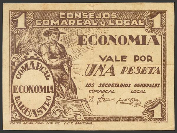 2775 - Billetes Guerra Civil
