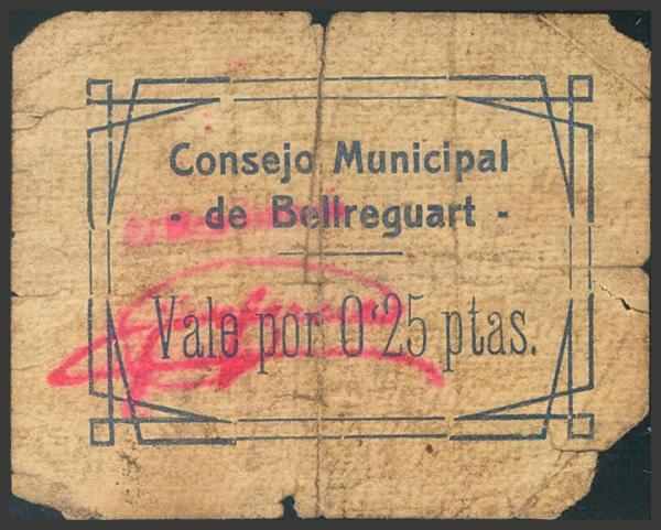 2777 - Billetes Guerra Civil
