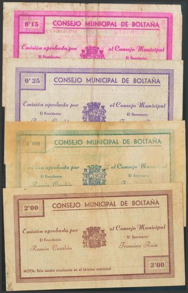 2780 - Billetes Guerra Civil