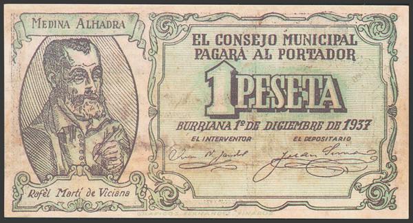 2782 - Billetes Guerra Civil