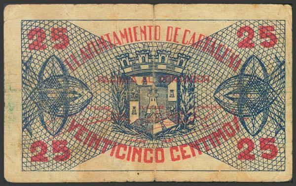 2786 - Billetes Guerra Civil