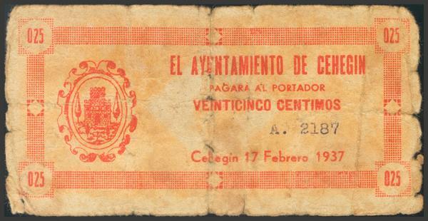 2788 - Billetes Guerra Civil