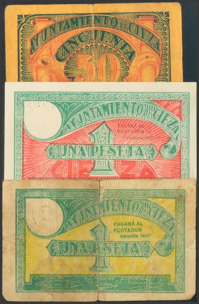 2789 - Billetes Guerra Civil