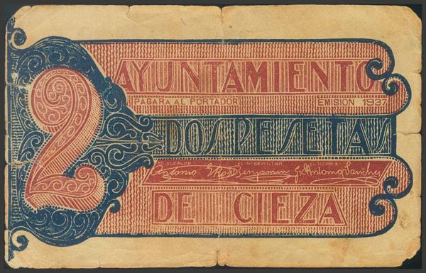 2790 - Billetes Guerra Civil