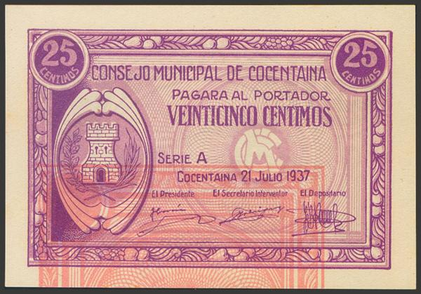 2793 - Billetes Guerra Civil