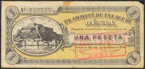2794 - Billetes Guerra Civil