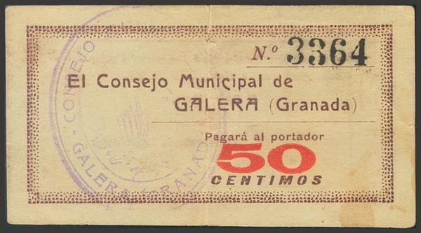 2797 - Billetes Guerra Civil