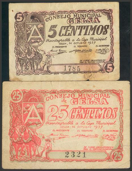 2798 - Billetes Guerra Civil