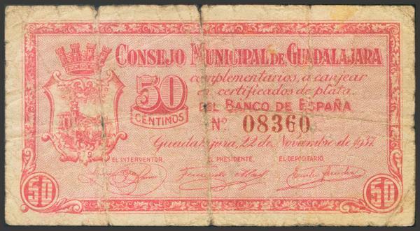 2799 - Billetes Guerra Civil