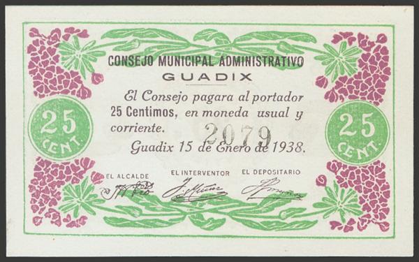 2800 - Billetes Guerra Civil