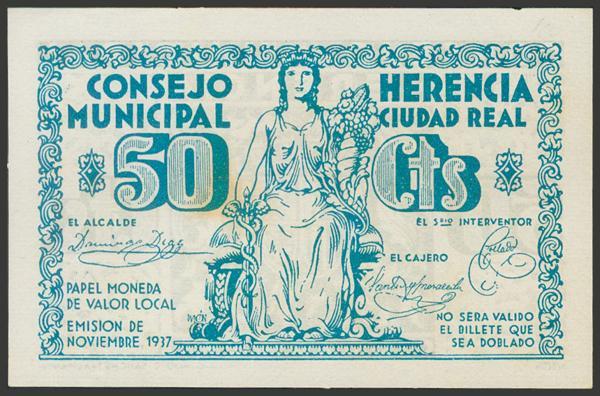 2801 - Billetes Guerra Civil