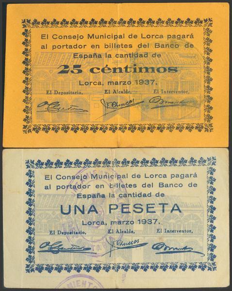 2803 - Billetes Guerra Civil