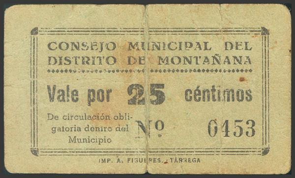 2805 - Billetes Guerra Civil