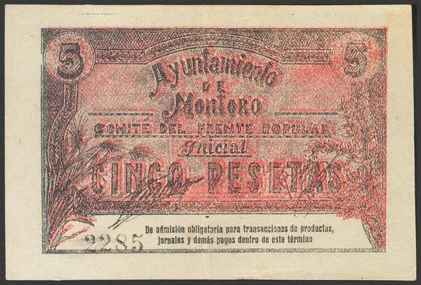 2806 - Billetes Guerra Civil