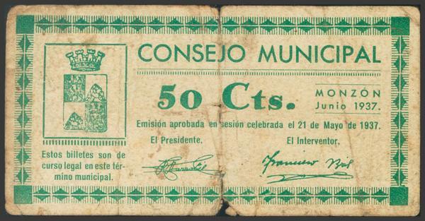2807 - Billetes Guerra Civil