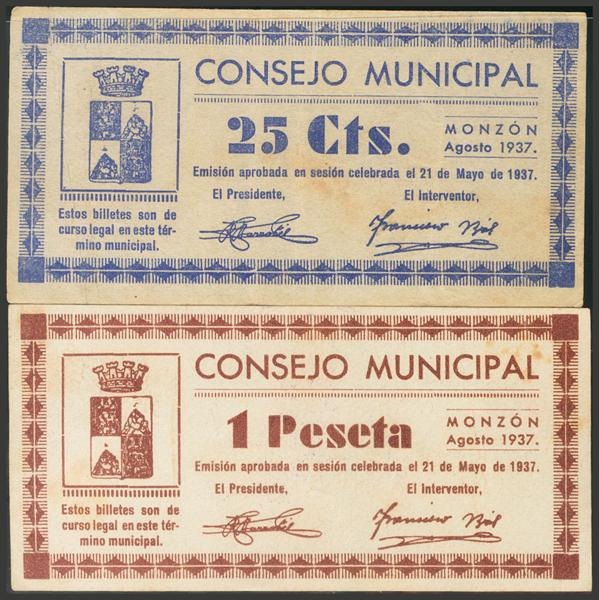 2808 - Billetes Guerra Civil
