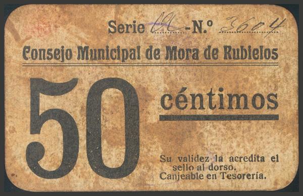 2809 - Billetes Guerra Civil
