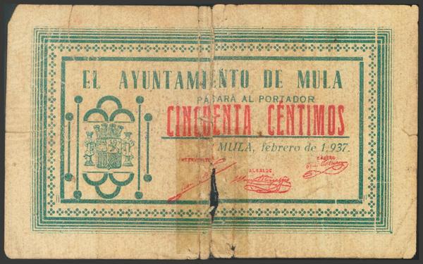 2810 - Billetes Guerra Civil