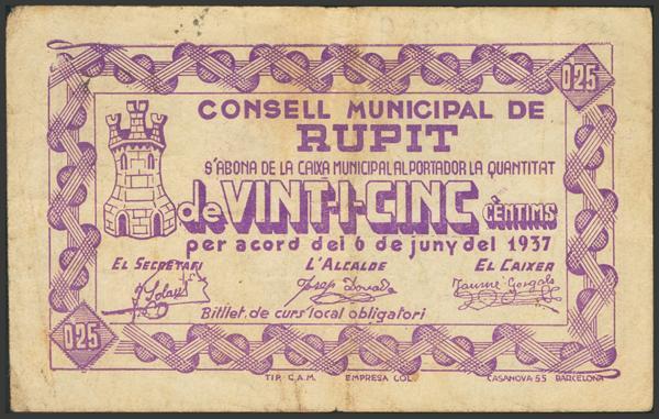 3001 - Billetes Guerra Civil