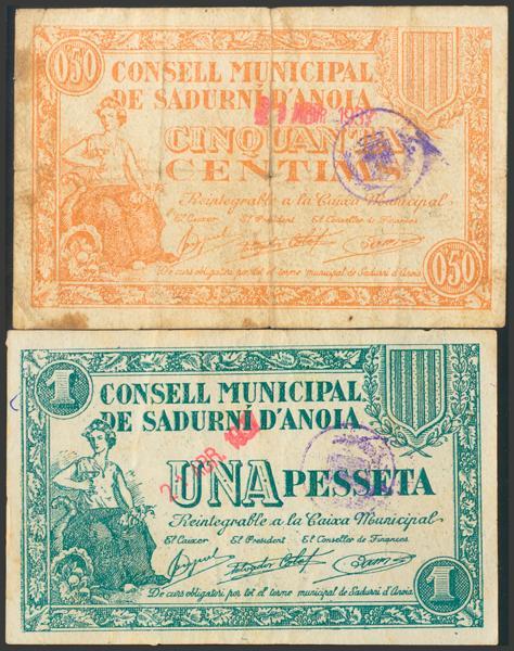 3003 - Billetes Guerra Civil