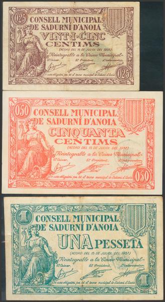 3004 - Billetes Guerra Civil