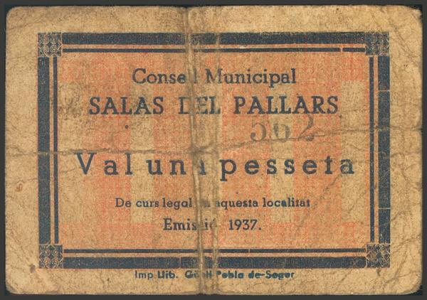 3005 - Billetes Guerra Civil