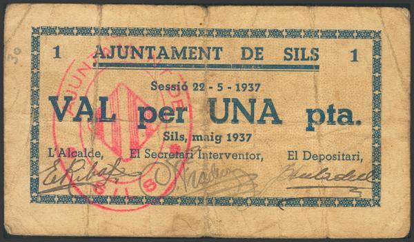 3009 - Billetes Guerra Civil