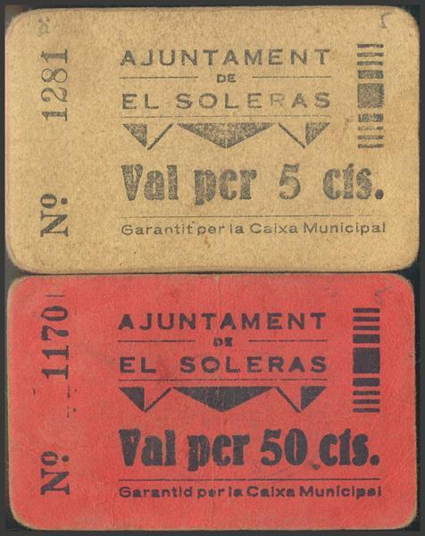 3010 - Billetes Guerra Civil