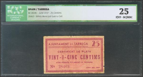 3015 - Billetes Guerra Civil