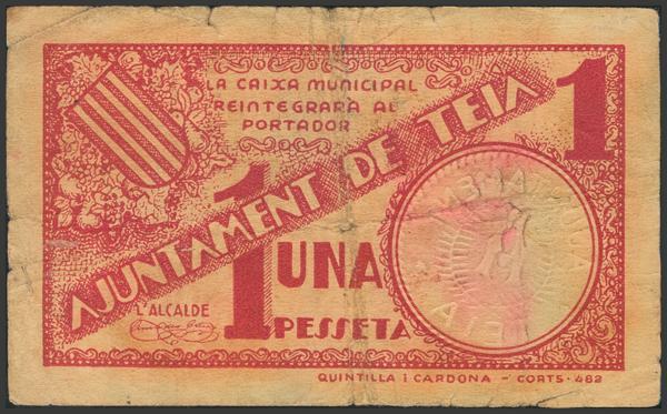 3016 - Billetes Guerra Civil